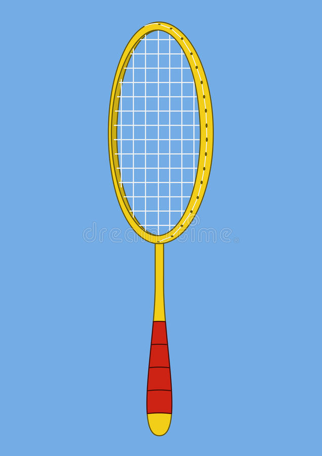 Download Racket for the badminton stock vector. Image of rest - 14893059