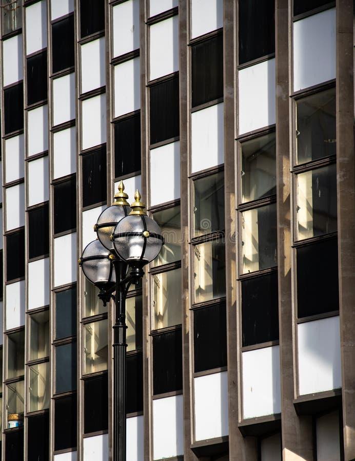 Rackhams сгребло окна стоковая фотография