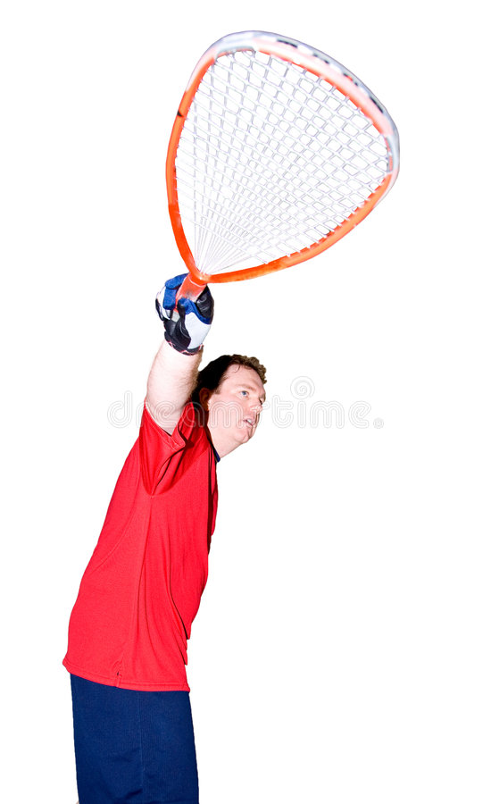 Download Racquet ball Player stock photo. Image of sport, workout - 7305554