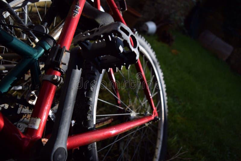 Rad des Fahrrades stockfotos