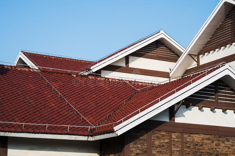 Download Rad Roofs And White Gables Stock Photography - Image: 28228382