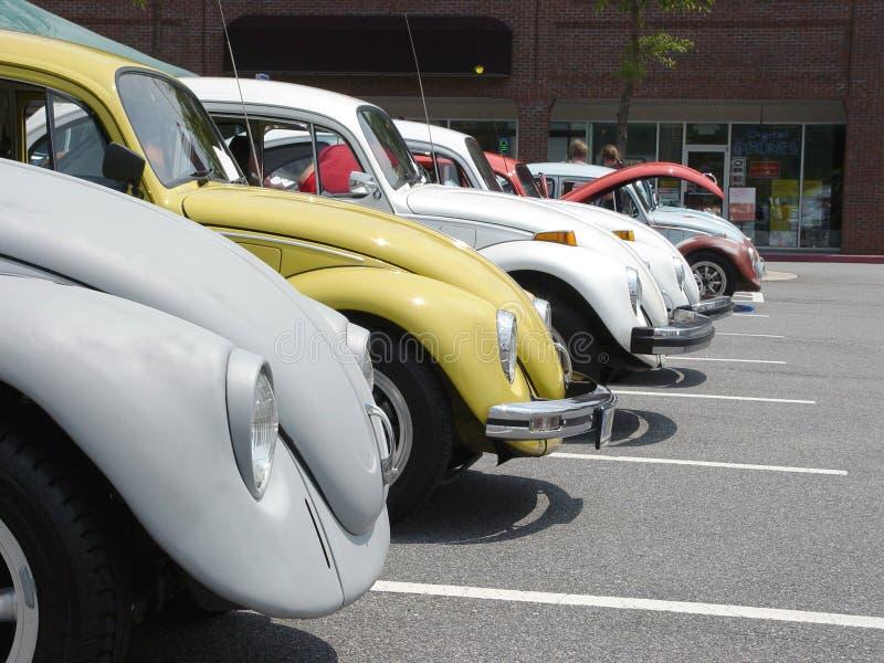 Rad Volkswagen Royaltyfri Foto