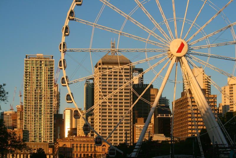 Rad von Brisbane lizenzfreies stockbild