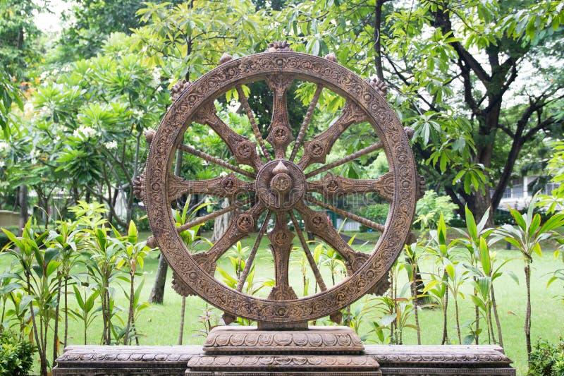 Rad von Dhamma lizenzfreies stockfoto