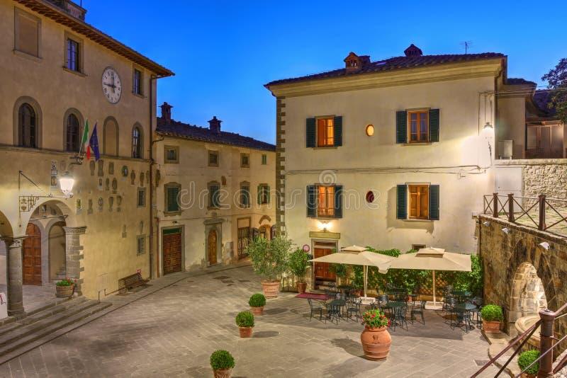 Rada di Chianti, Tuscany, Italy royalty free stock photos