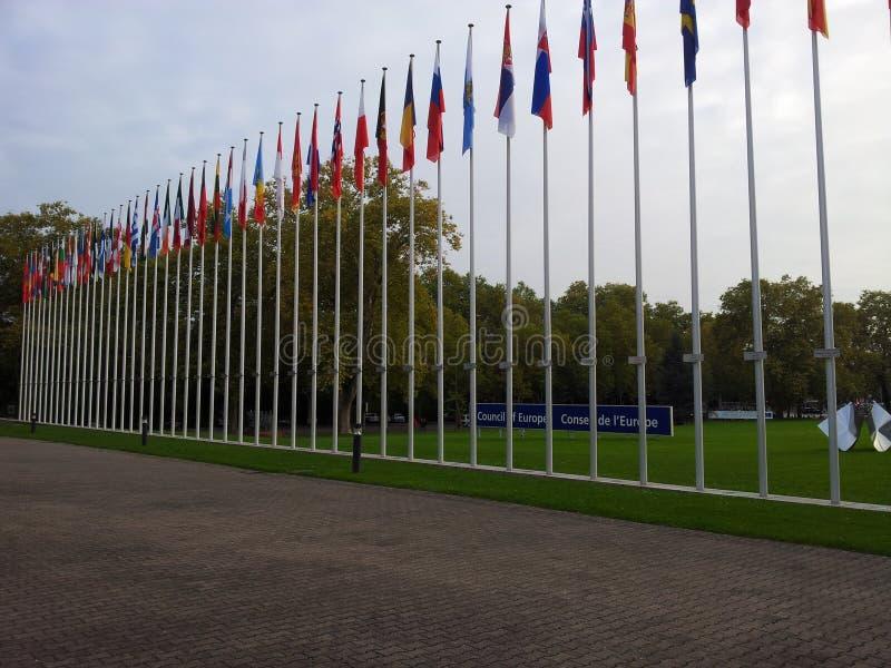 Rada Europy obraz stock