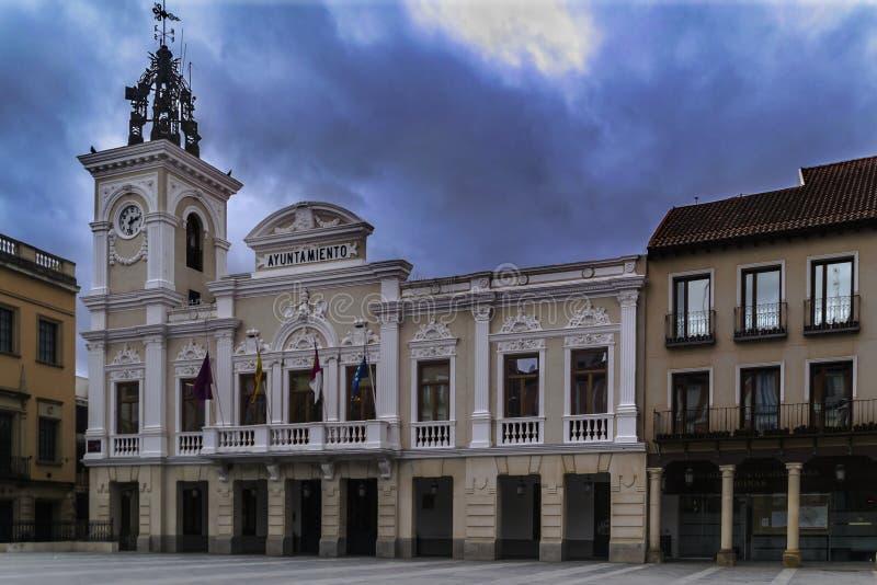 Rada Miasta Guadalajara Hiszpania zdjęcie stock