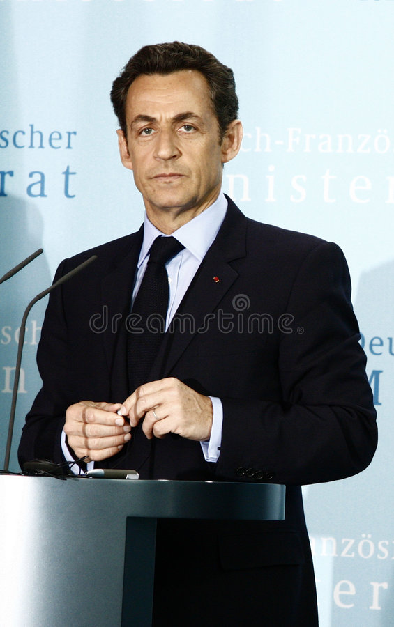 rada minister francuski niemiecki obrazy stock