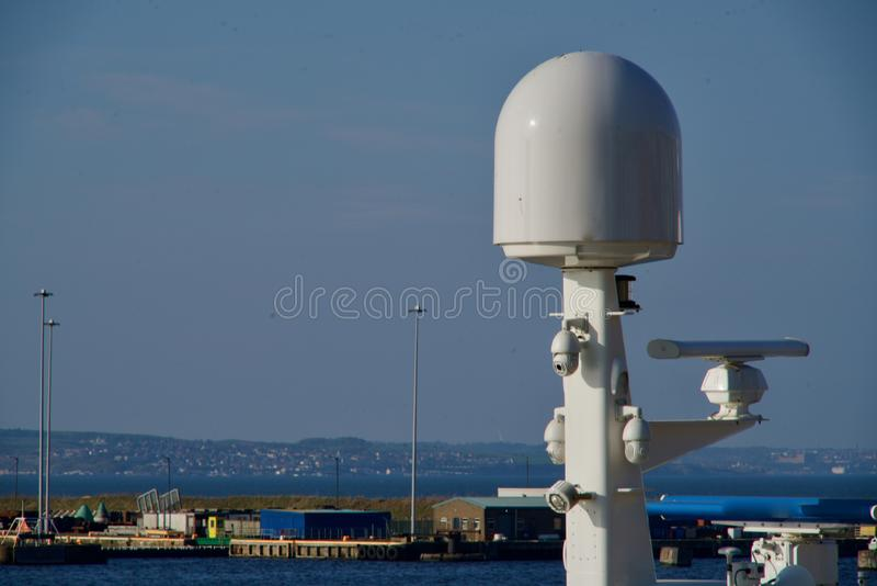 Radar łódź zdjęcie stock