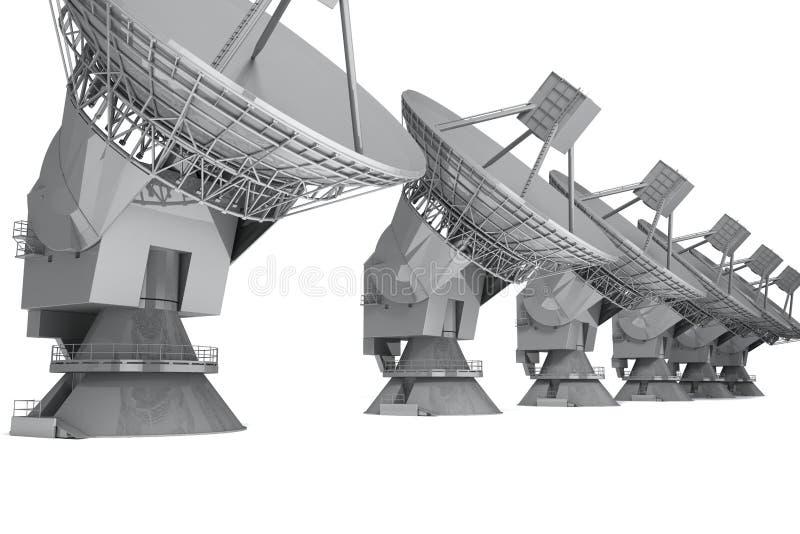 Radar ilustração do vetor