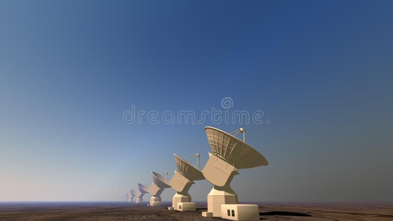 Radar stock abbildung