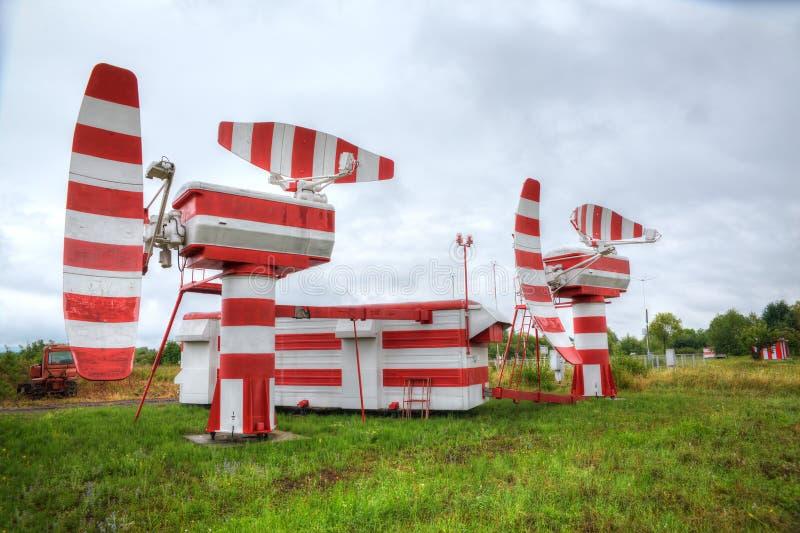 Radar zdjęcie stock