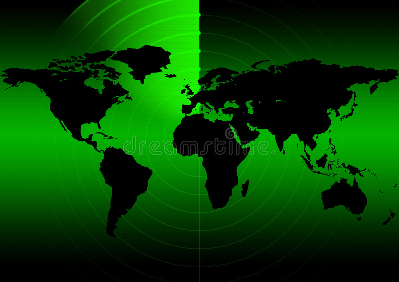 Radar stock illustratie