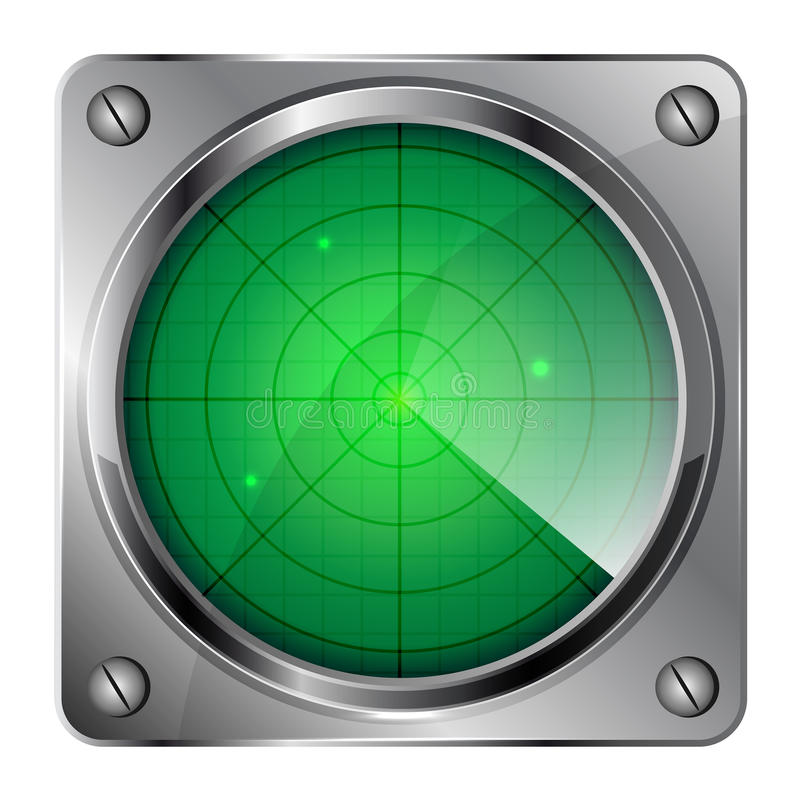 radar vektor abbildung