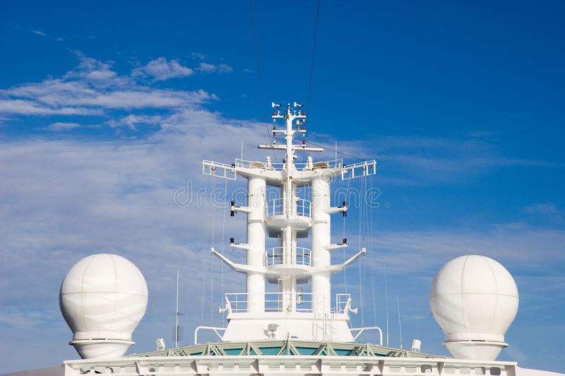 Download Radar stock image. Image of lookout, antenna, system, cruise - 7395631
