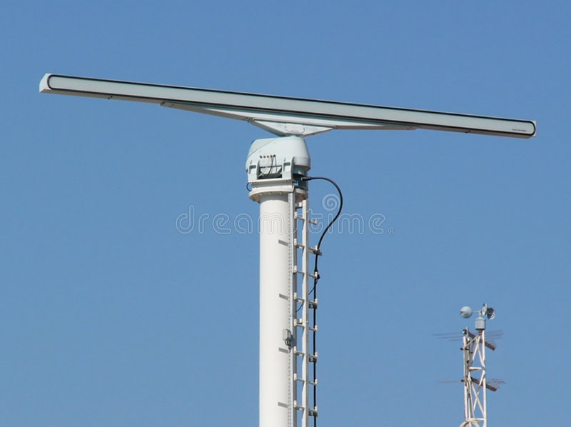 Radar & velocità immagini stock