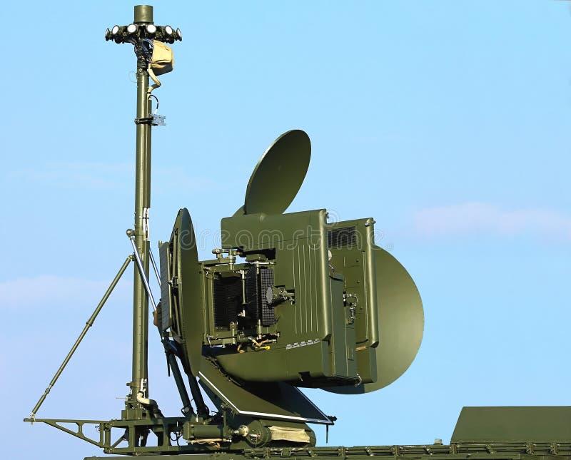 Radar antenna royalty free stock images