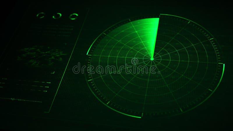 radar zdjęcie royalty free
