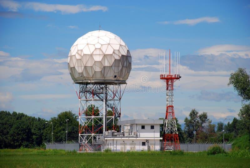 Radar de Doppler fotografía de archivo libre de regalías