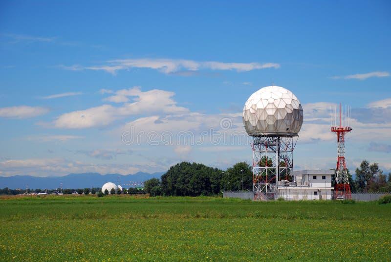 Radar de Doppler fotografía de archivo