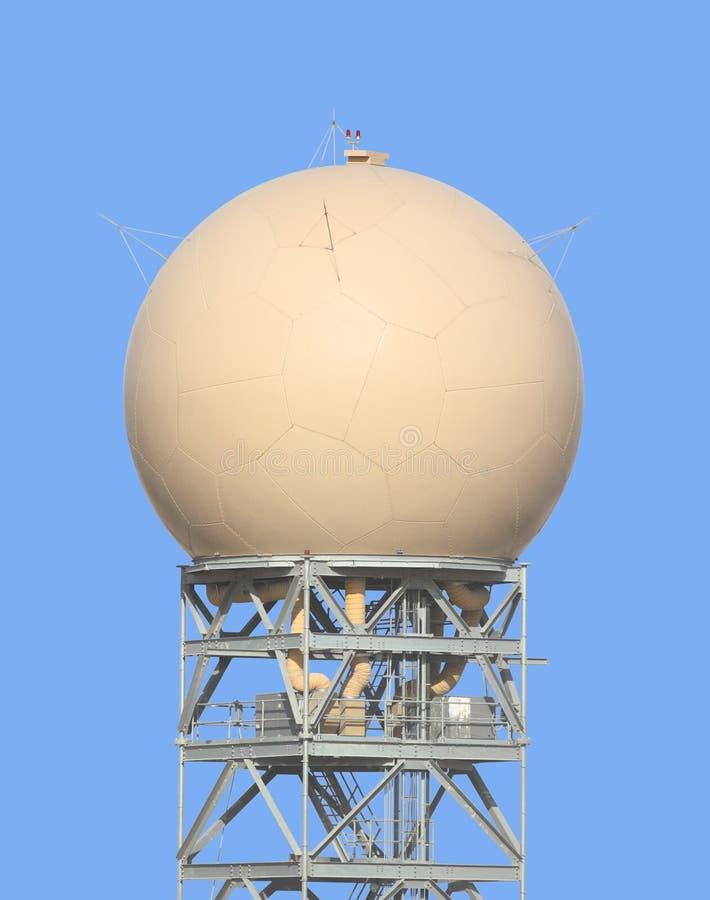 Radar de tempo fotografia de stock