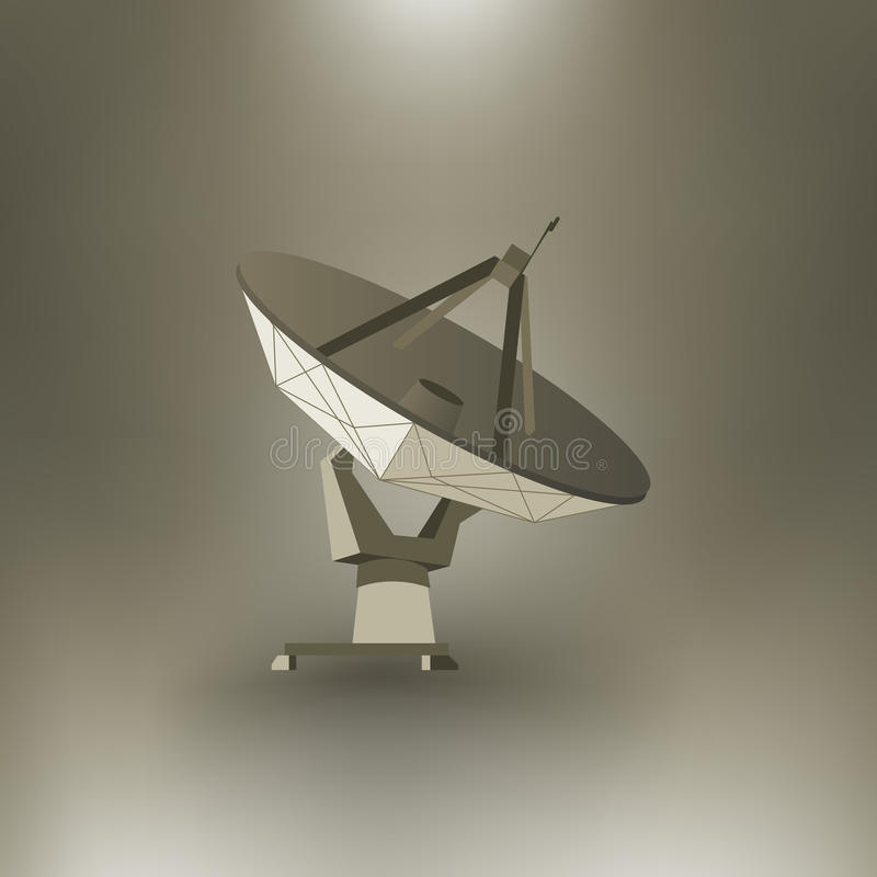 Radar de vecteur illustration stock