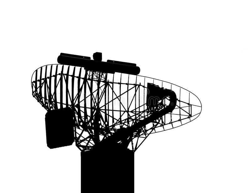Radar Device royalty free stock image