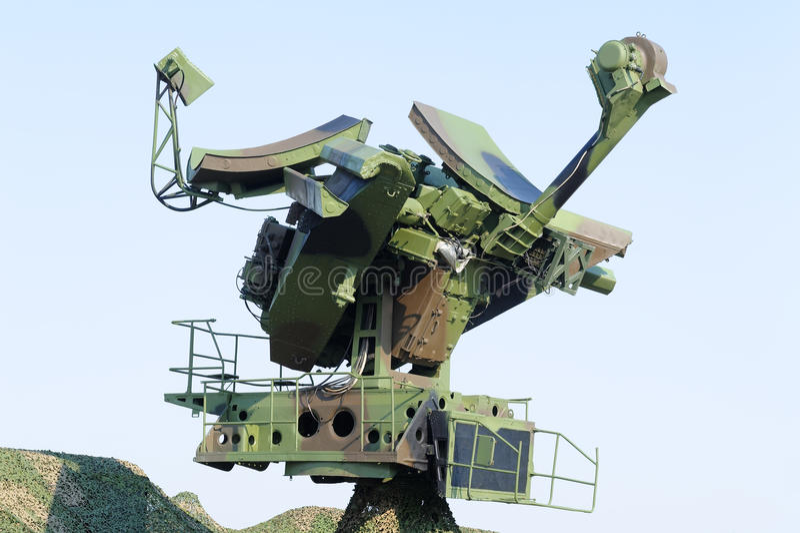 Radar mobile photographie stock