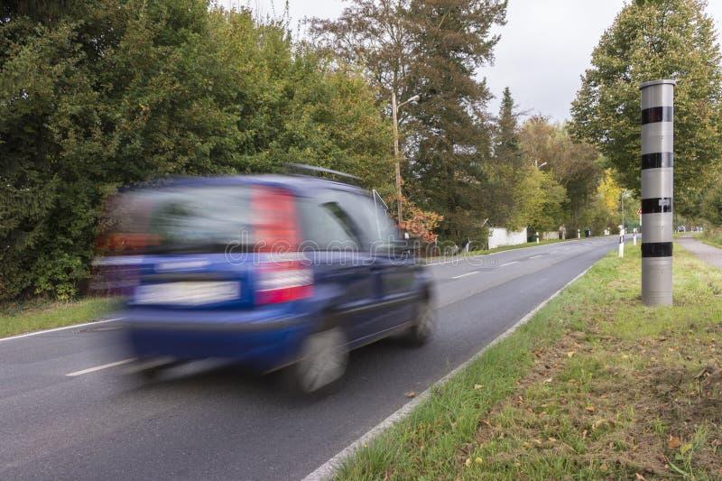 Radar speed camera stock photos