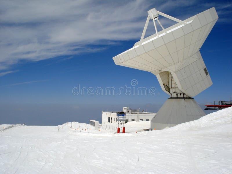 Radar sui pendii della sierra Nevada fotografia stock libera da diritti