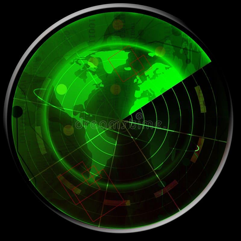 Radar verde libre illustration
