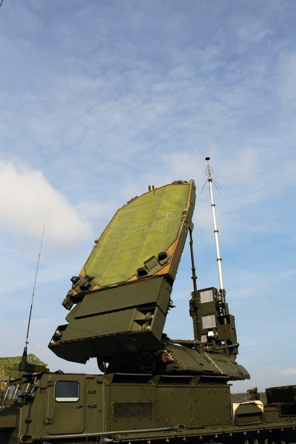 Radarowa antena obrazy royalty free