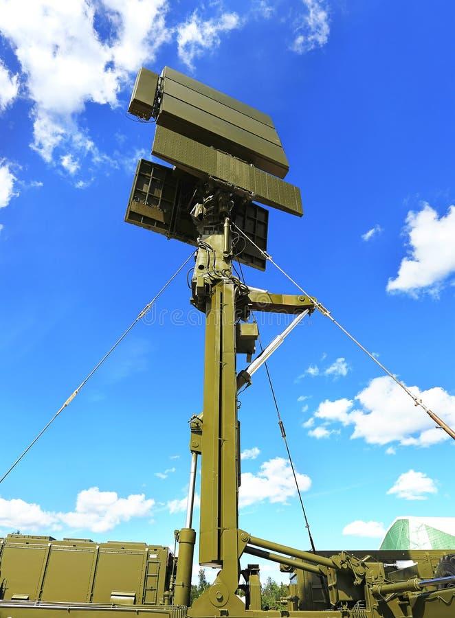 Radarowa antena zdjęcia stock