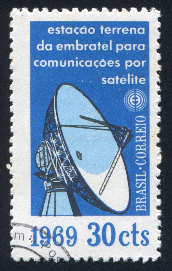 Radarowa antena zdjęcie royalty free