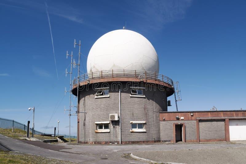 Radarowa kopuła fotografia stock