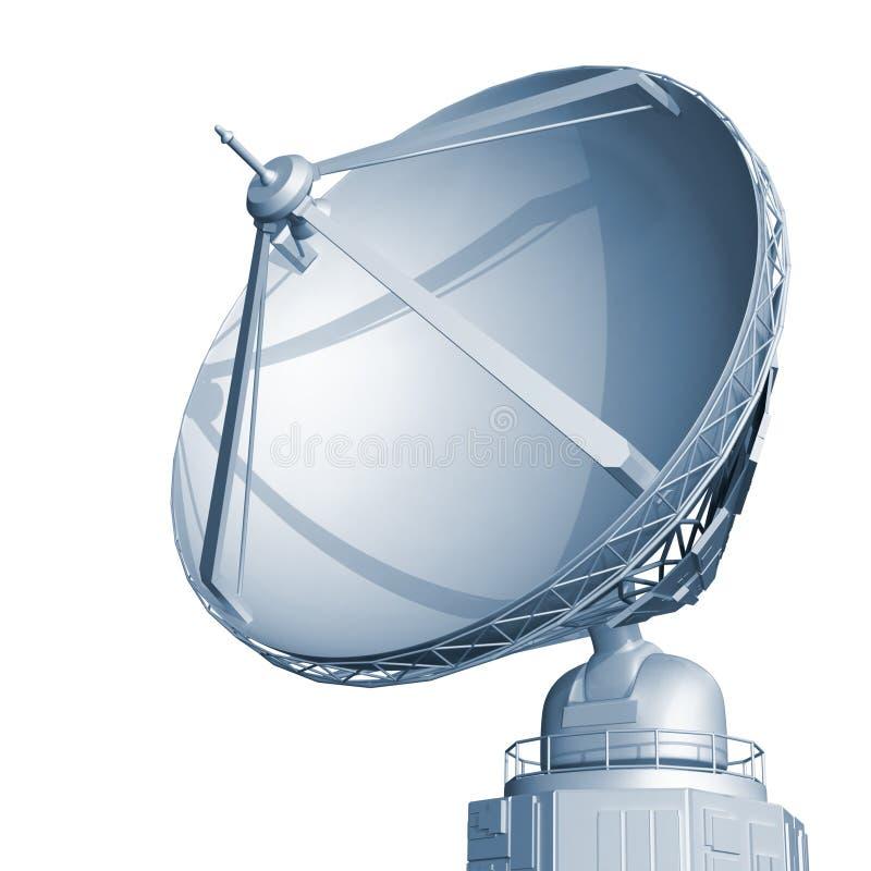 Radarteller stock abbildung
