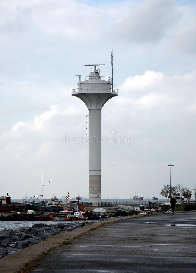 Radartoren royalty-vrije stock afbeelding
