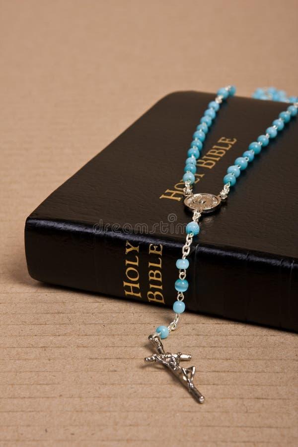 radband för bibelkristendomenhelgedom royaltyfri foto