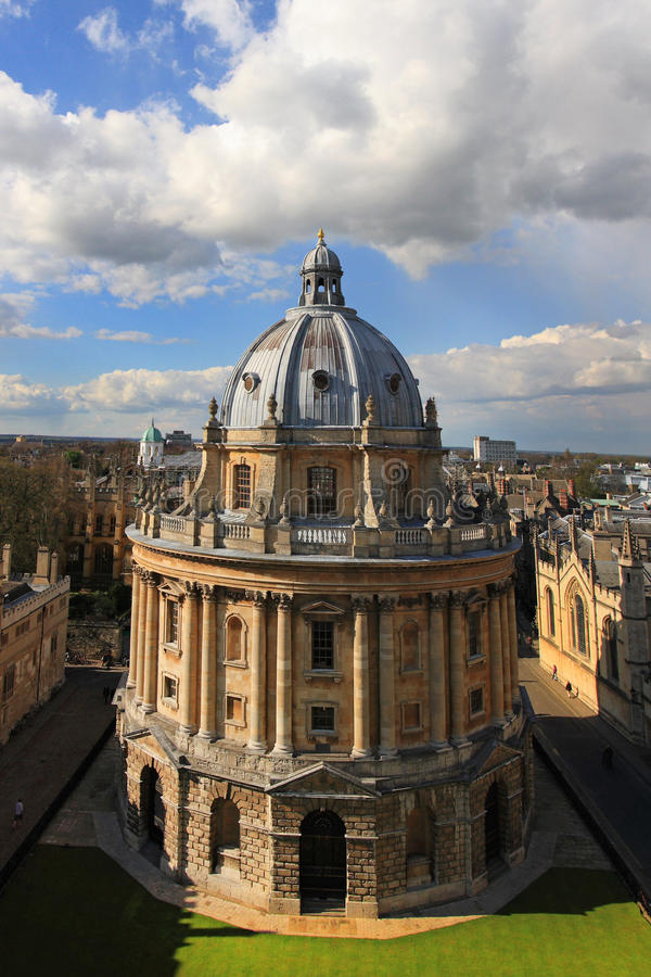 Radcliffe camera, Bodleian library royalty free stock photography