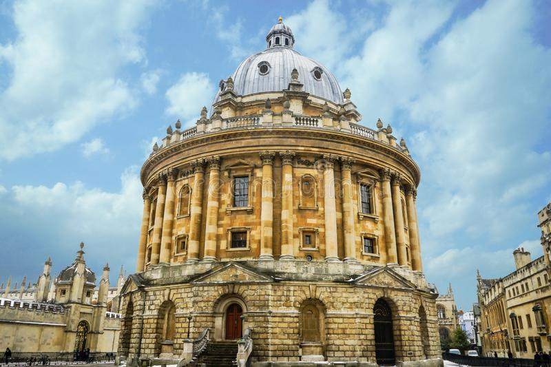 Radcliffe Camera, Bodleian Library, Oxford University, Oxford, E stock image