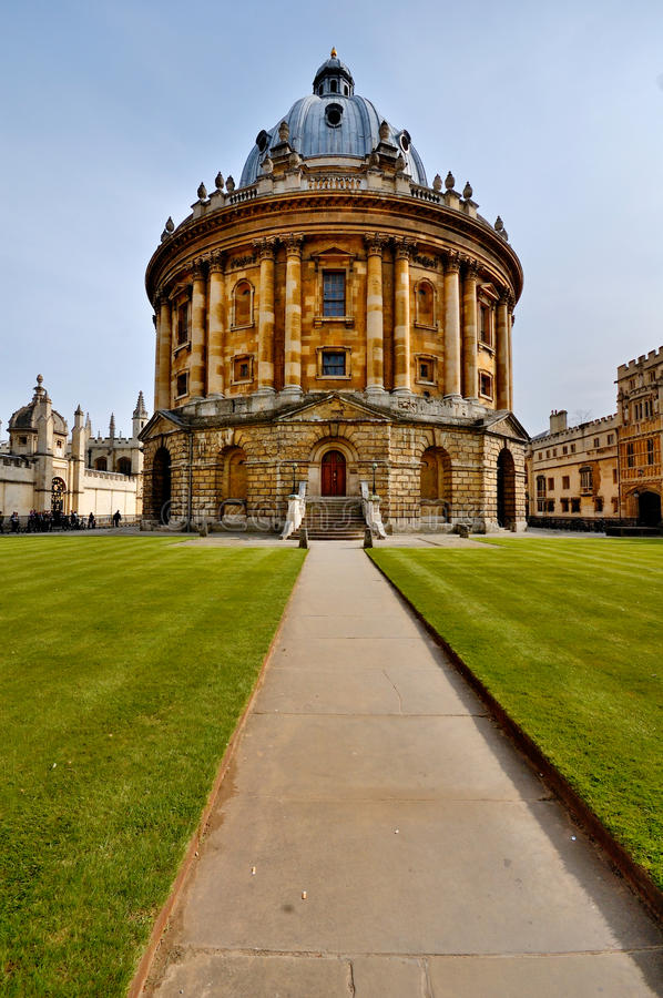 Download Radcliffe Camera, Oxford stock photo. Image of round - 14054966