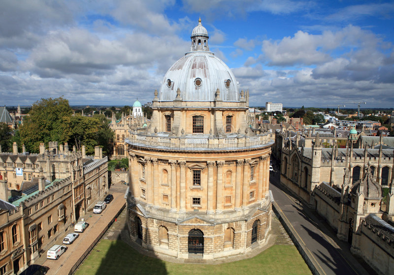 The Radcliffe Camera, Oxford stock photo