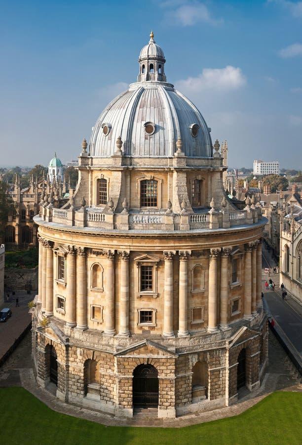 radcliffe de l'Angleterre Oxford d'appareil-photo images libres de droits