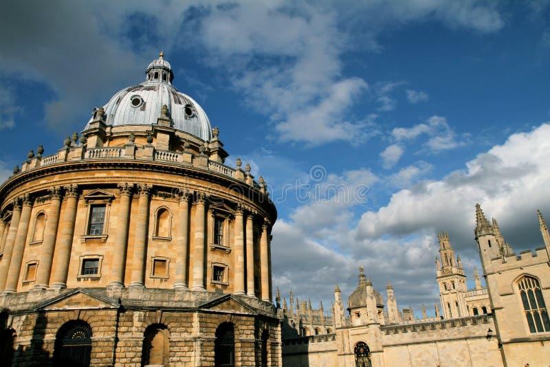 Radcliffe Kamera, alle Seelen Hochschule, Oxford stockfotografie