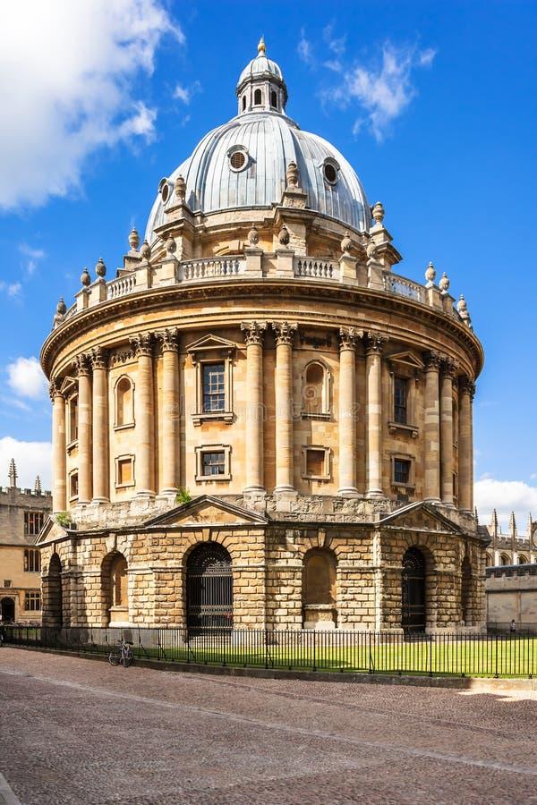 Radcliffe kamera jest budynkiem uniwersytet oksford Oxfordshire obraz royalty free