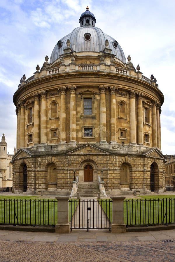 Radcliffe Kamera - Oxford - England stockbilder