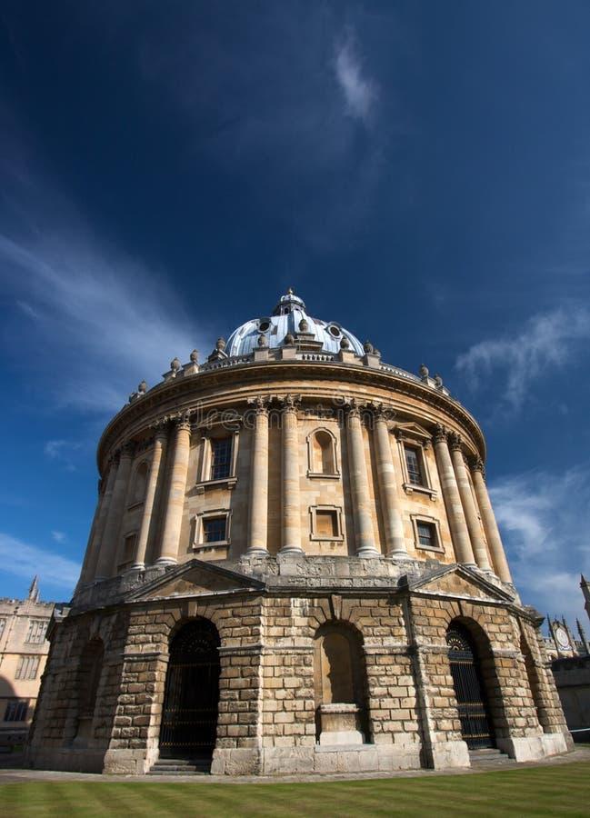 Radcliffe Kamera, Oxford, Großbritannien lizenzfreies stockfoto