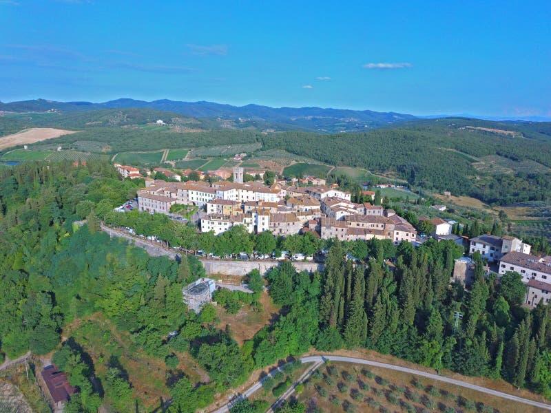 Radda dans Chianti Toscane Italie photos stock