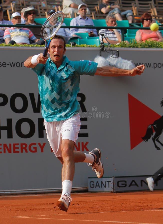 Radek Stepanek, tenis 2012 foto de archivo libre de regalías