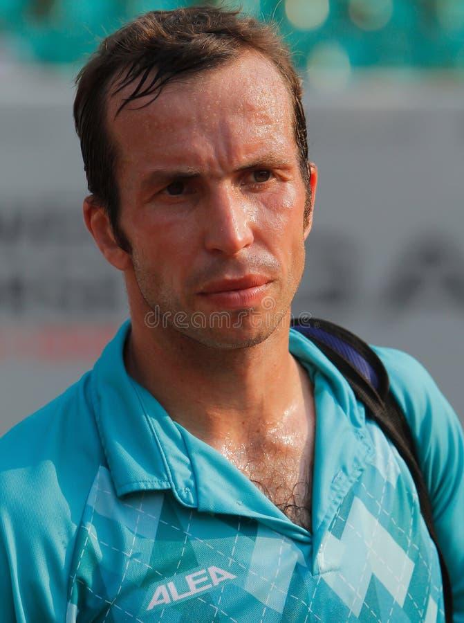 Radek Stepanek, tenis 2012 foto de archivo